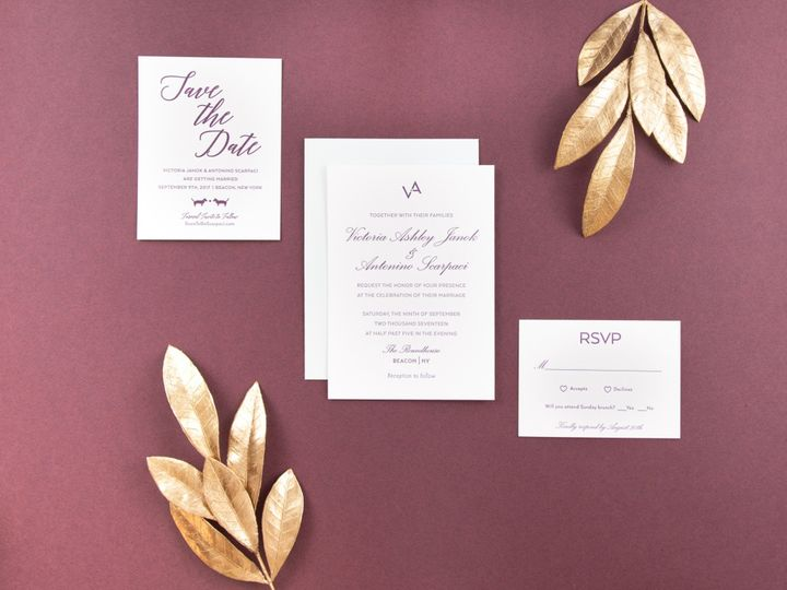 Tmx Wishbone Letterpress Ii 20 51 457240 158436755887598 Kingston, New York wedding invitation