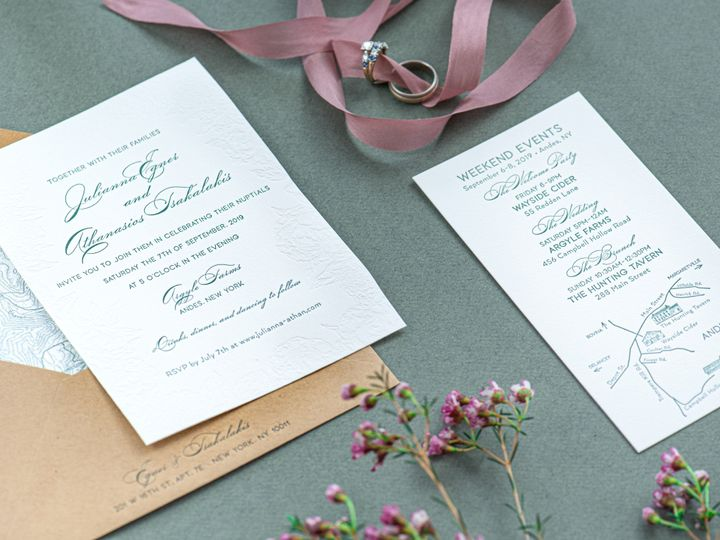 Tmx Wishbone Letterpress Ii 3 51 457240 158436770898232 Kingston, New York wedding invitation