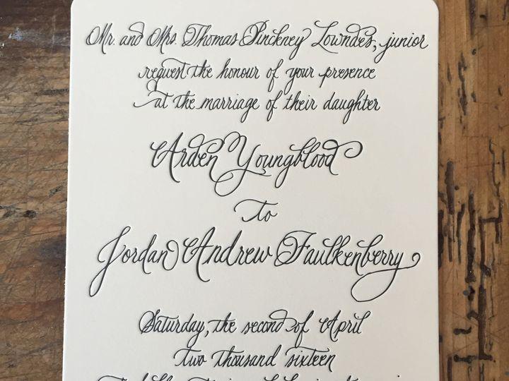 Tmx 1520197790 Be61c8fe6eb2b93c 1520197786 C89e6ca5f6c415b5 1520197765982 3 IMG 4792 Mount Pleasant wedding invitation