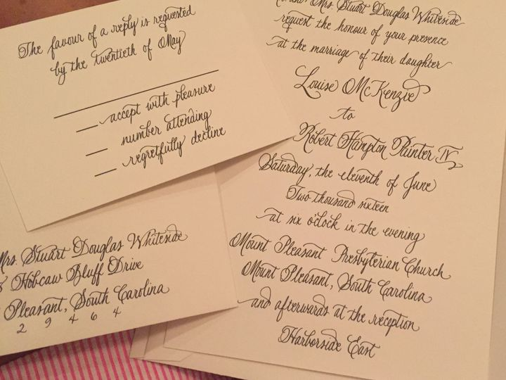 Tmx 1520197964 27e639bc7be6b8b0 1520197961 Ab03c2a7afd76d3a 1520197905248 25 IMG 5722 Mount Pleasant wedding invitation