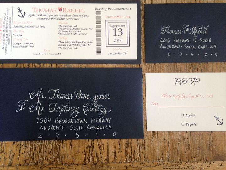 Tmx 1520198251 Dbba960c9c46d54b 1520198213 46b11de9253ffcb8 1520198211 F8c7e72b456ab492 152019 Mount Pleasant wedding invitation
