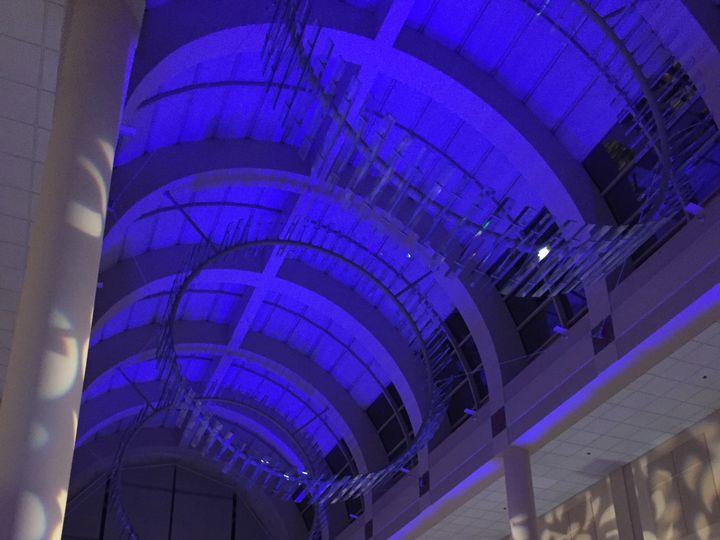 Tmx Library Galleria Design Lighting Ceiling Royal Blue Uplighting Brighten Up Event Lighting 51 928240 Sacramento, California wedding eventproduction