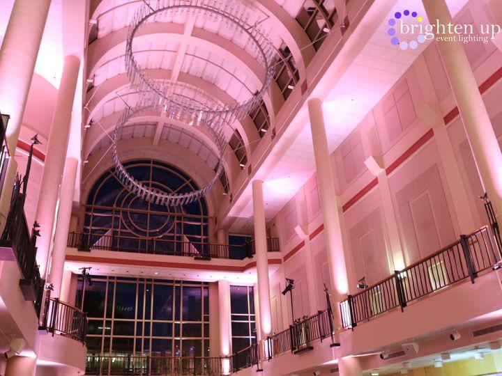 Tmx Library Galleria Sacramento Pink Uplighting Brighten Up Event Lighting 51 928240 Sacramento, California wedding eventproduction