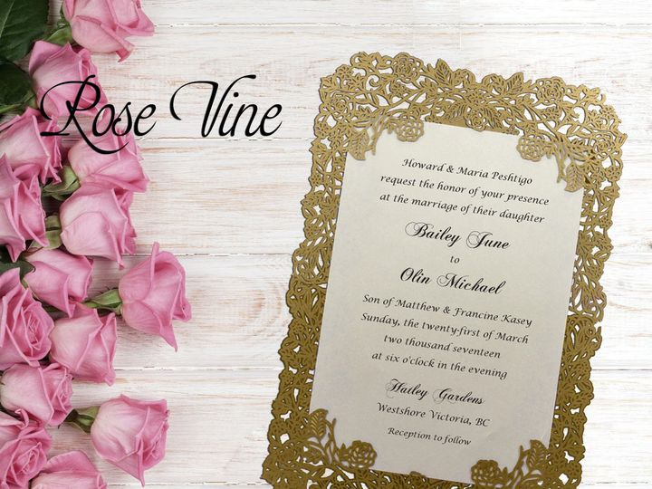 Tmx 1497576982227 Rose Vine Logo Santa Rosa wedding invitation