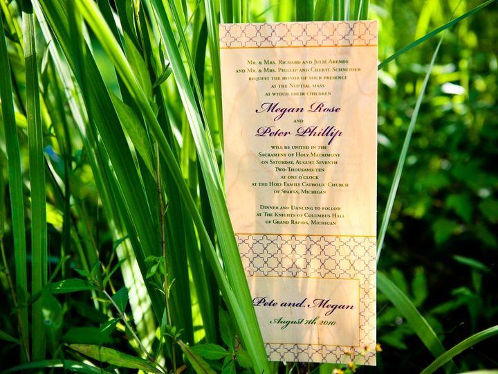 Tmx Cardsofwood 2 Copy 51 88240 158283724827970 Belmont, MI wedding invitation