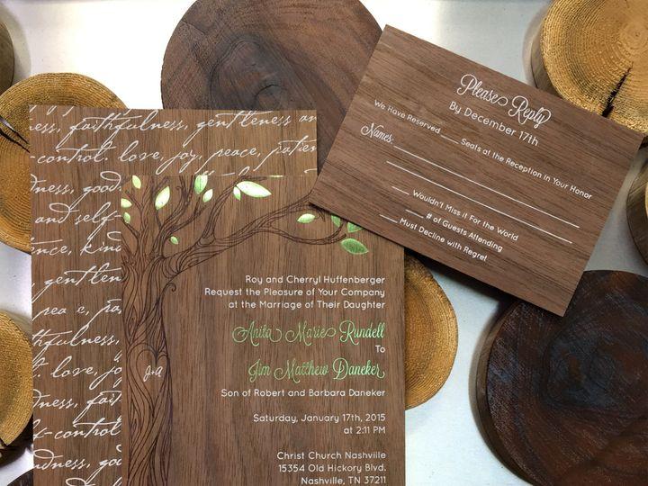 Tmx Cardsofwood Walnutsample Copy 51 88240 158283725168881 Belmont, MI wedding invitation