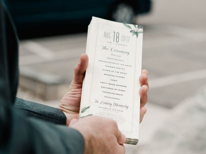 Tmx Programs Copy 51 88240 158283726574971 Belmont, MI wedding invitation