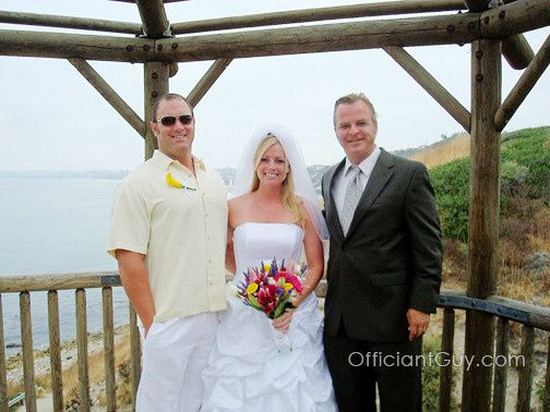 A perfect outdoor wedding at one of Officiant Guy's favorite wedding venues. Ask him to be your...