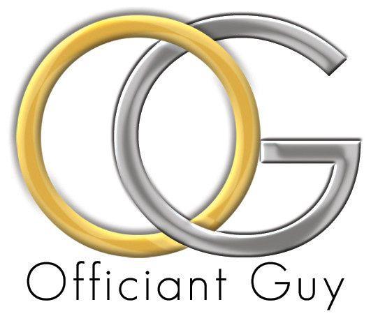 Officiant Guy logo.