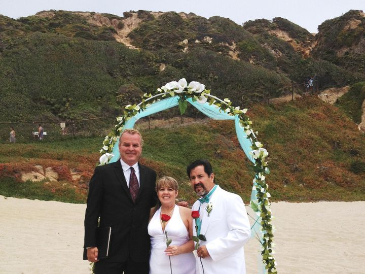 Tmx 1483384938734 Beach Wedding 2 Long Beach, California wedding officiant