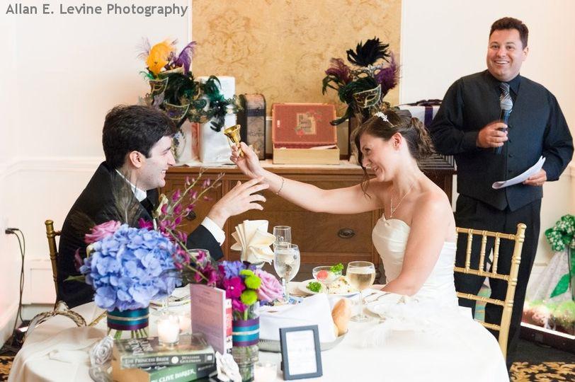 hudson valley wedding dj bri swatek toast dutchess