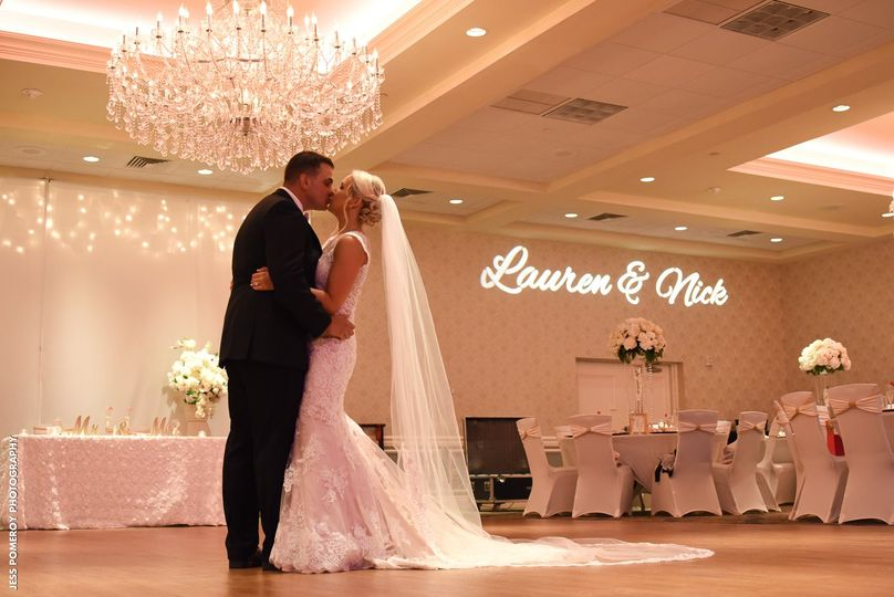 Crystal Ballroom Newlyweds