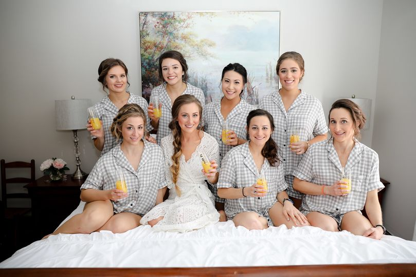 Margaret and her Bridesmaids