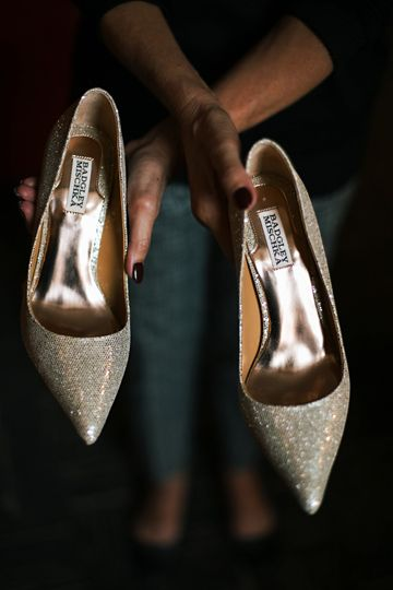M+B Wedding Shoes