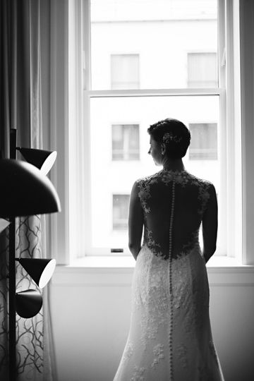 M+B Bridal Portrait
