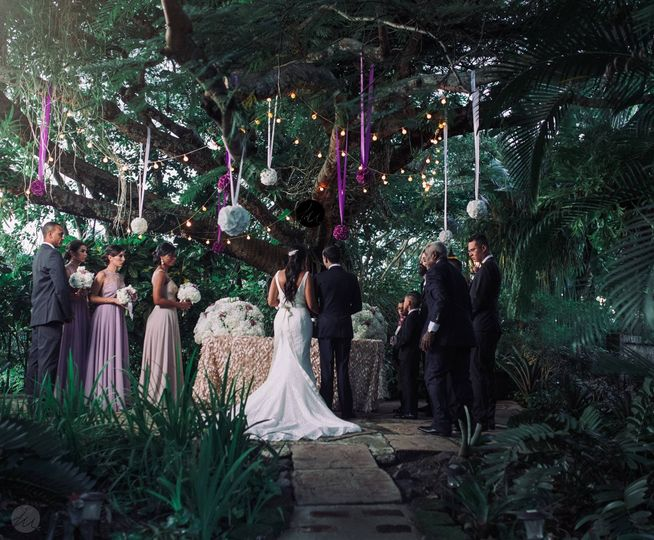 Wedding at Jardines del Castillo, Trujillo Alto PR