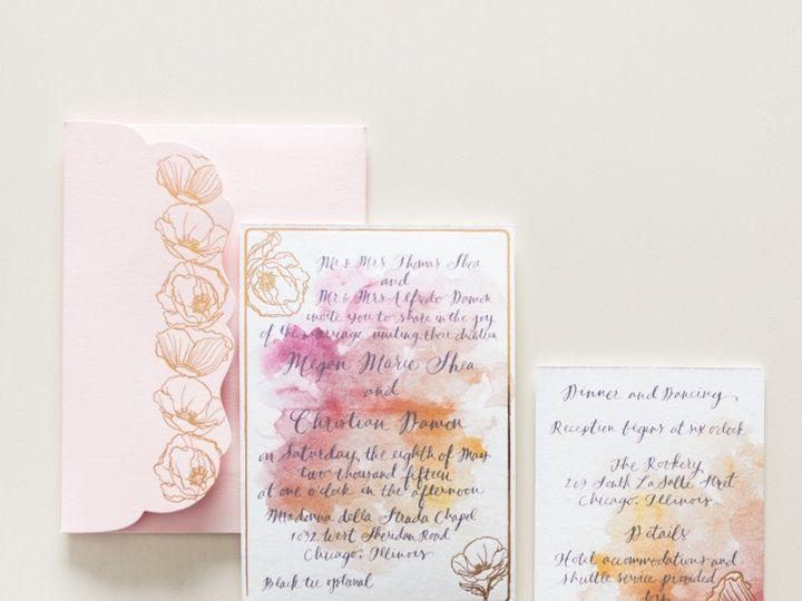 Tmx 1435504203442 Kristin La Voie Photography Chicago Wedding Photog Naperville, IL wedding invitation