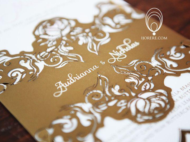 Tmx 1435504348716 1 Naperville, IL wedding invitation