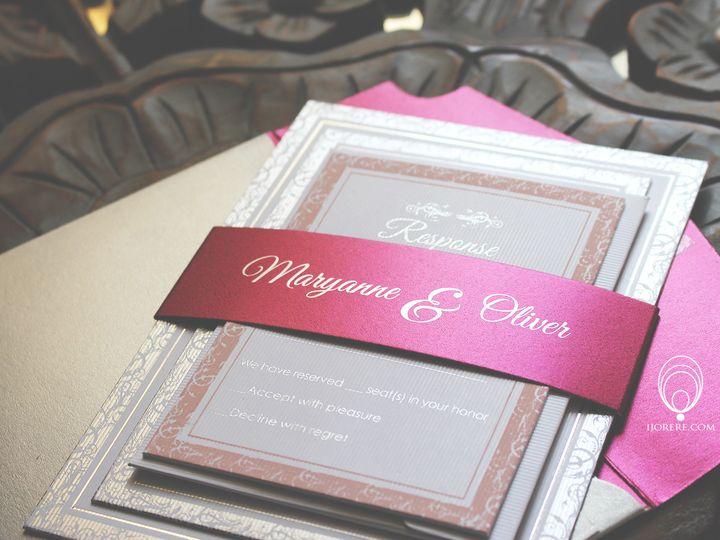 Tmx 1435504497073 Mo3 Naperville, IL wedding invitation