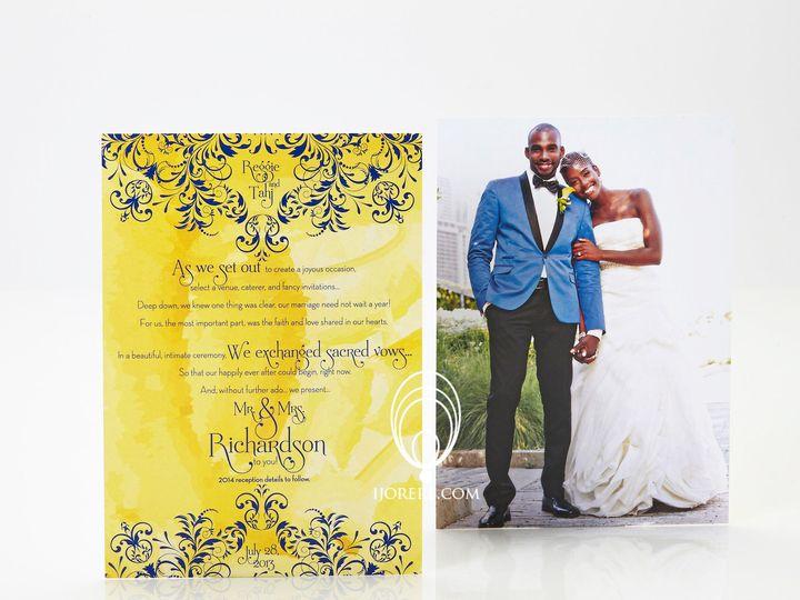 Tmx 1435504626652 Tarjreggie Naperville, IL wedding invitation