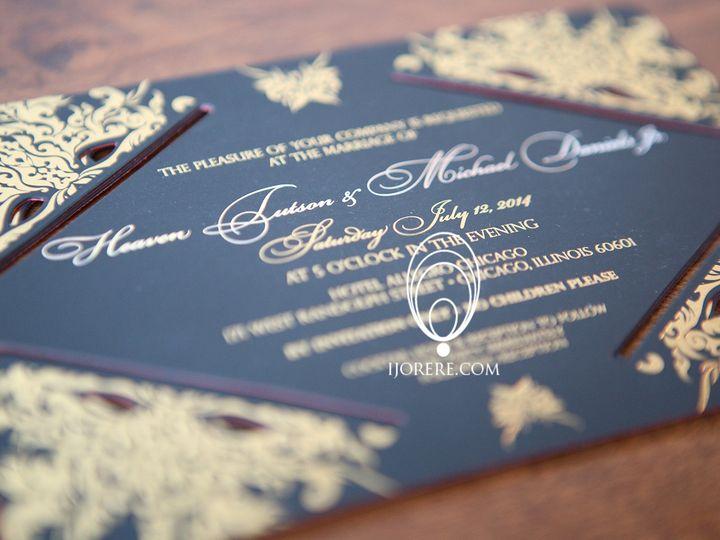 Tmx 1435504642288 1 Naperville, IL wedding invitation