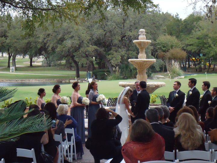 Wedding ceremony fountain