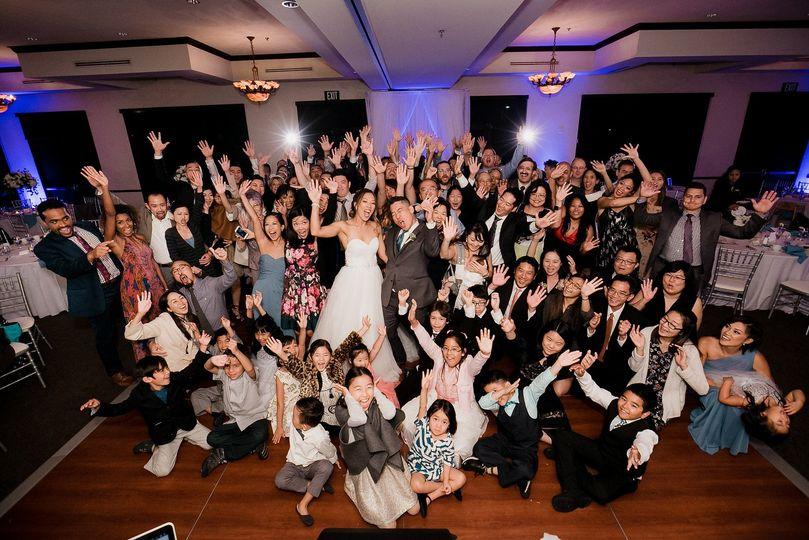 sarah mack group shot on the dance floor 51 34340