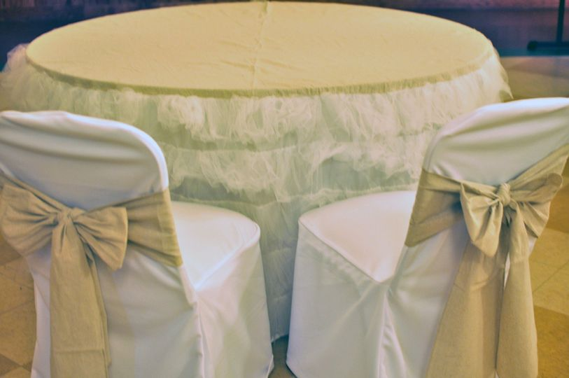 Couture Table Linen - The Marla