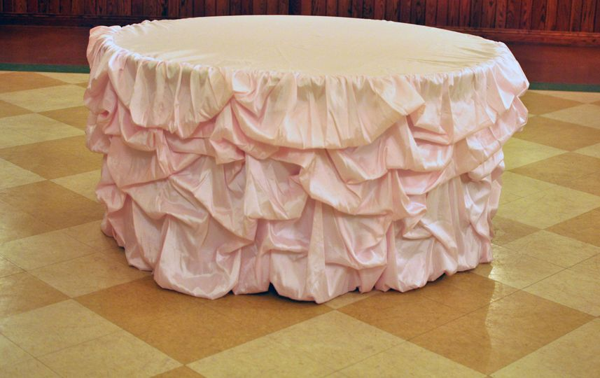 Pink Couture Table Linen