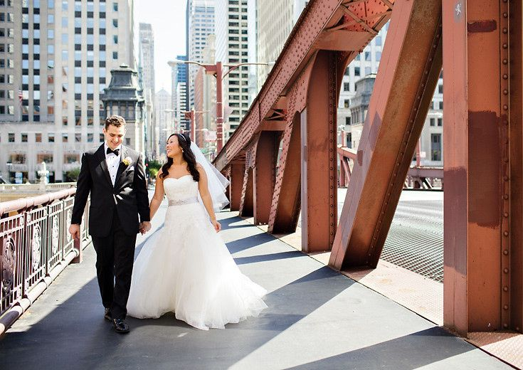 chicago wedding photographer phot