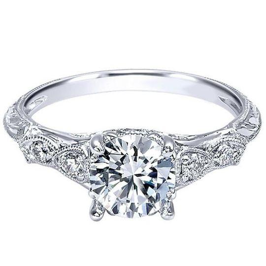 bengarelickhudson diamond engagement ring