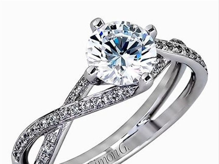 Tmx 1483989047771 Simongtwistdiamondengagementring3qtrstylemr1394gra Williamsville, NY wedding jewelry