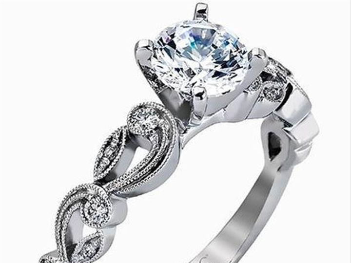 Tmx 1483989053175 Simongvintagestyleengagementringtr47307f449f3 4b08 Williamsville, NY wedding jewelry