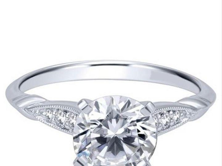 Tmx 1483989179501 Gabrielvictoriansidestoneengagementringer11826r4w4 Williamsville, NY wedding jewelry