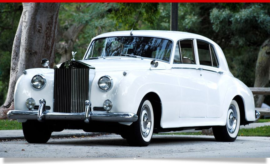 "Our Rolls Royce Silver Cloud adds that ""wow factor"" to your wedding day experience.   What could be..."