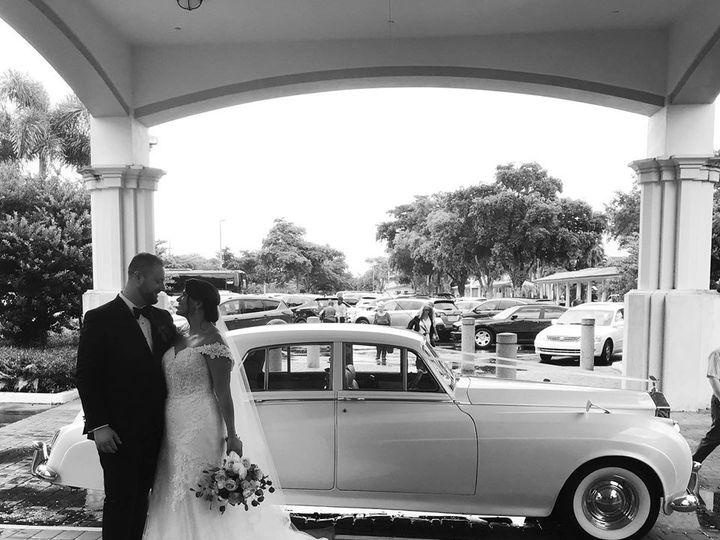 Tmx Couple With Antique Rolls 51 17340 158127670421480 Fort Lauderdale, Florida wedding transportation