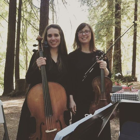 Cellist and violist