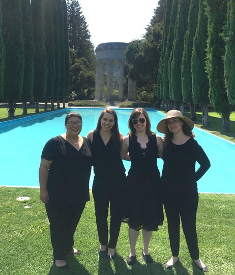 Quartet at the Pulgas Water Temple