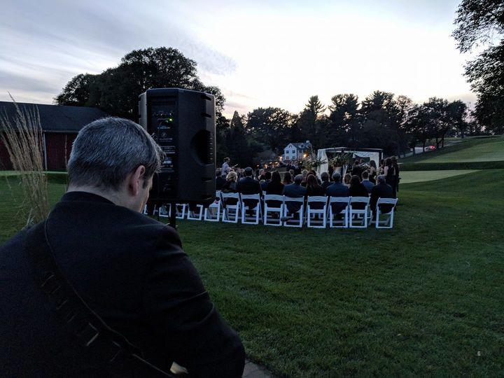 American Deluxe Band Ceremony at Philadelphia Cricket Club