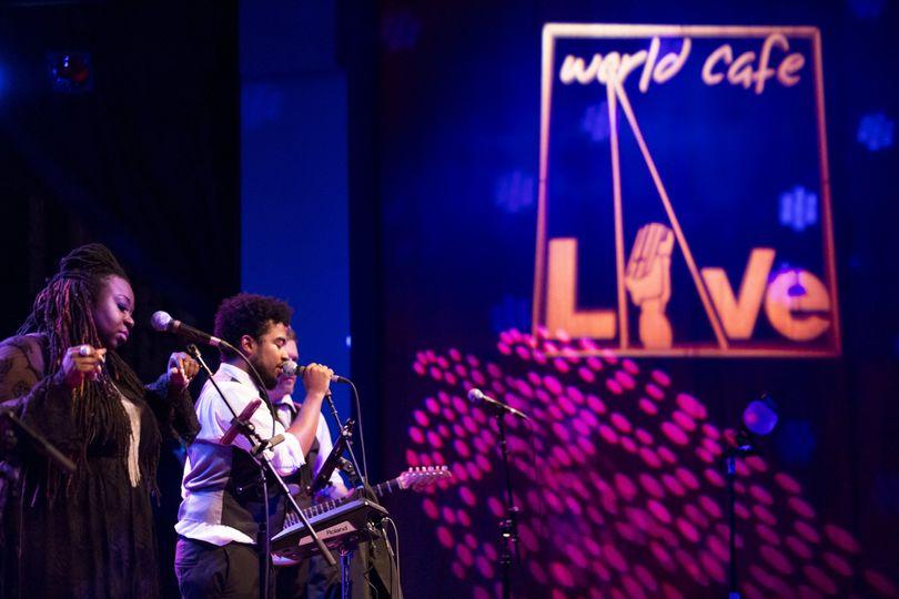 The band performing | Credit: jonathan kolbe