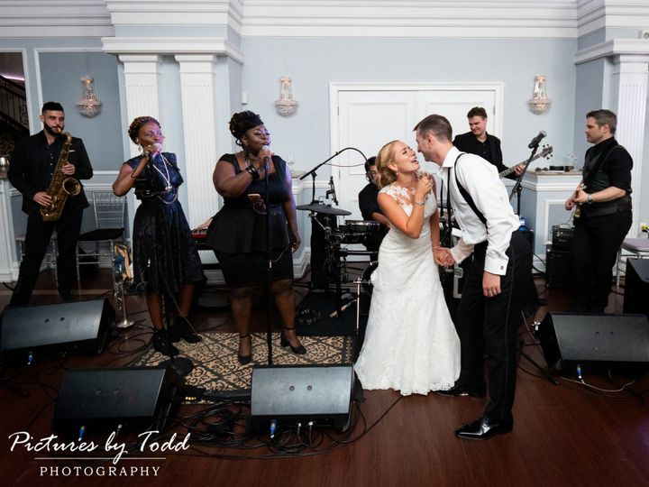 Tmx Arts Ballroom American Deluxe Band Wedding Candid Party Fun 51 787340 V1 Philadelphia, PA wedding band