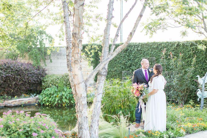 Garden elopements