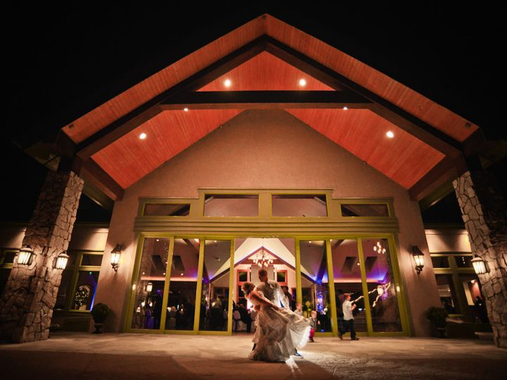 Tmx 1448926446614 Dip On Back Patio Castle Rock, Colorado wedding venue