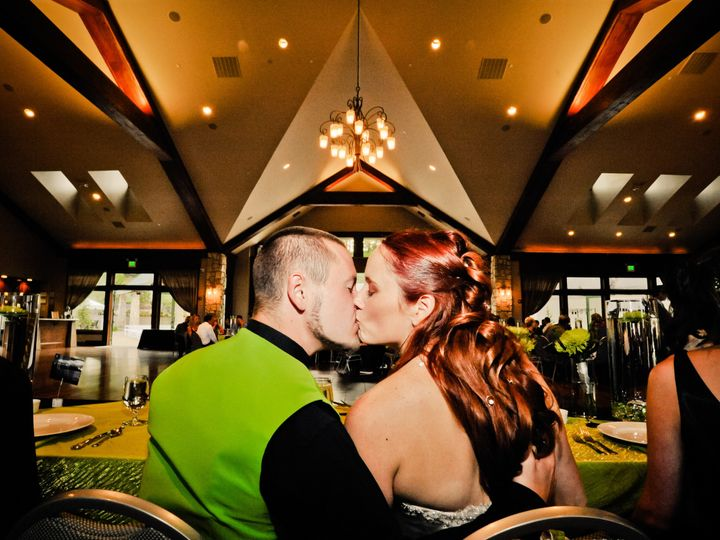 Tmx 1448926540608 Head Table Kiss Castle Rock, Colorado wedding venue