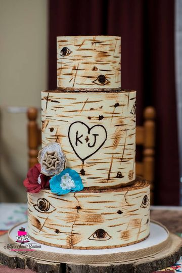 rustic birch bark tree wedding cake 005 51 529340 1558830386