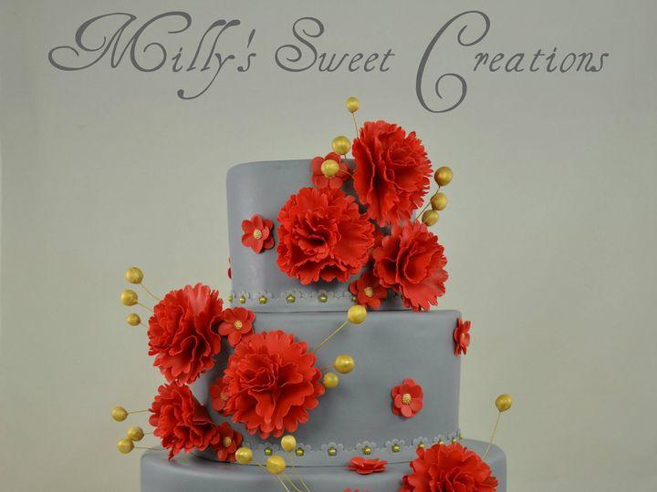 Tmx 1385879918640 Warm Gray Wedding Cake 00 Cleburne, Texas wedding cake