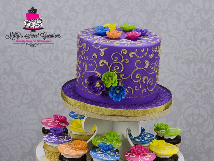 Tmx 1446519049115 Indian Bollywood 40th Birthday Cake 003 Cleburne, Texas wedding cake