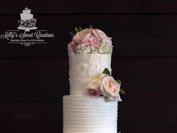 Tmx 1460251810245 Rustic  Shabby Chic Wedding Cake 000 Cleburne, Texas wedding cake