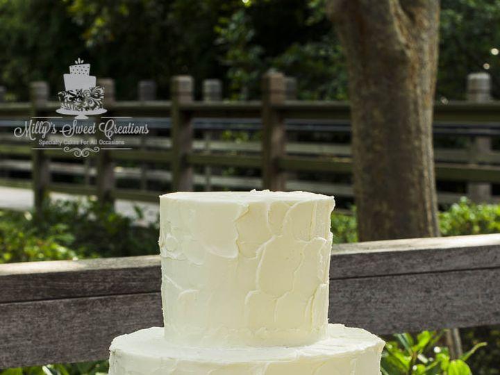 Tmx 1466359367778 Textured Buttercream Wedding Cake  Rosettes Cupcak Cleburne, Texas wedding cake