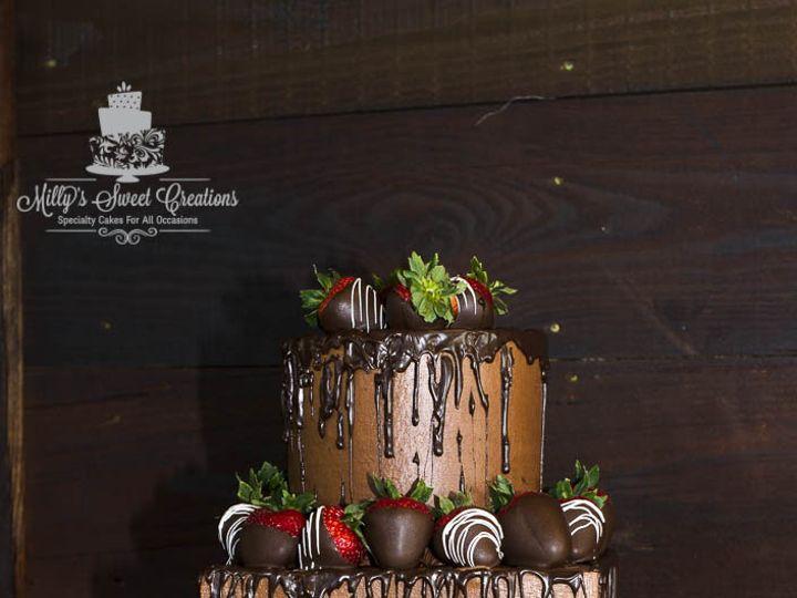 Tmx 1467045691687 Chocolate  Chocolate Covered Strawberries Grooms C Cleburne, Texas wedding cake